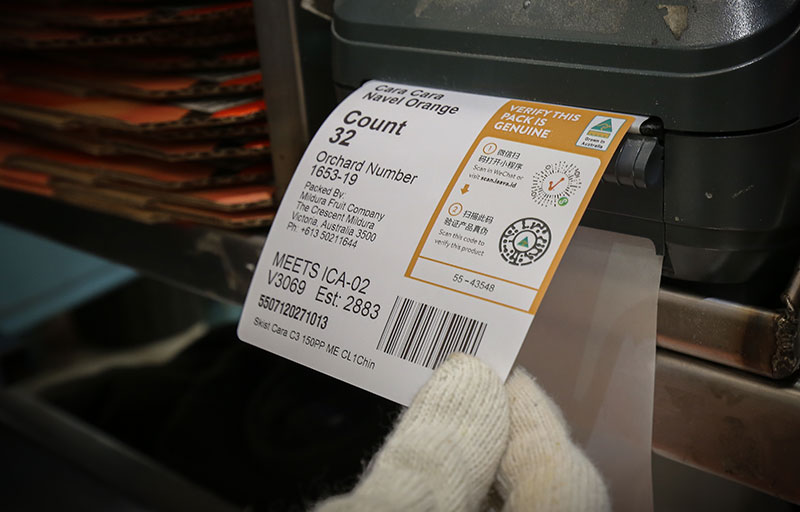 Laava Smart Fingerprints® - Labelling and packaging