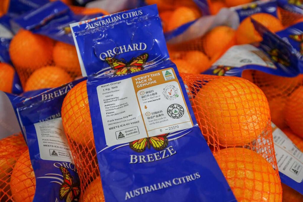 "Laava ID, Traceability trial a ""game changer"" for citrus industry"