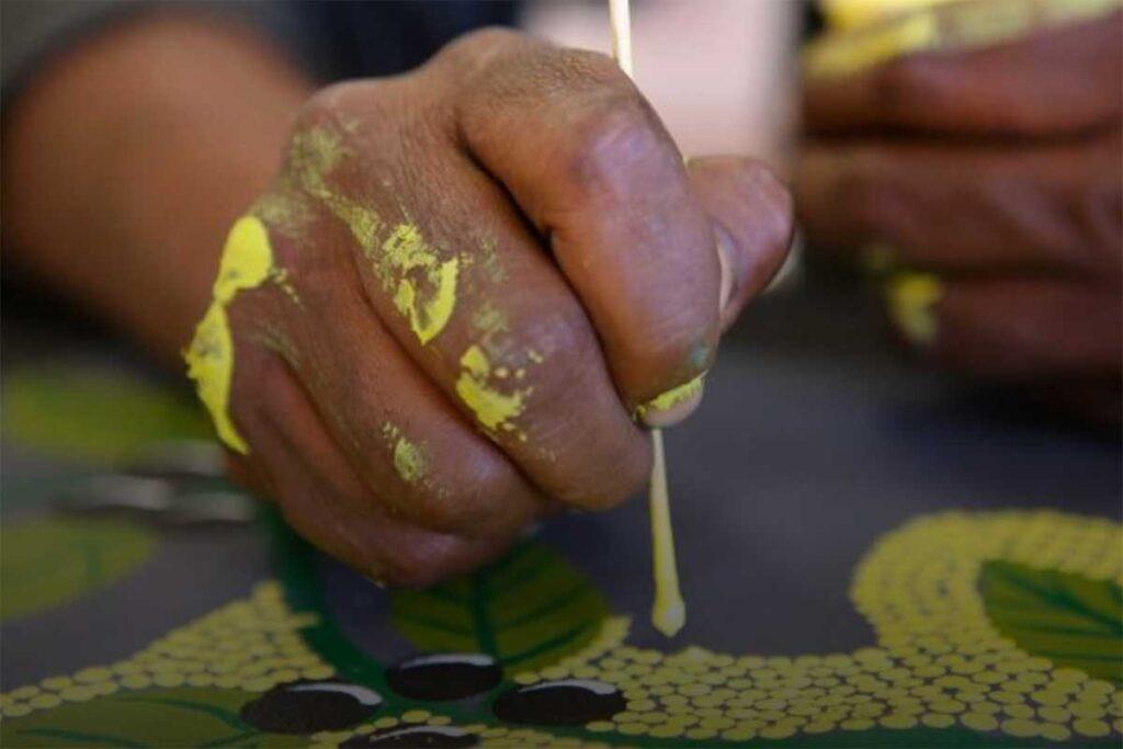 Laava, Can blockchain technology put a brake on fake Indigenous art?