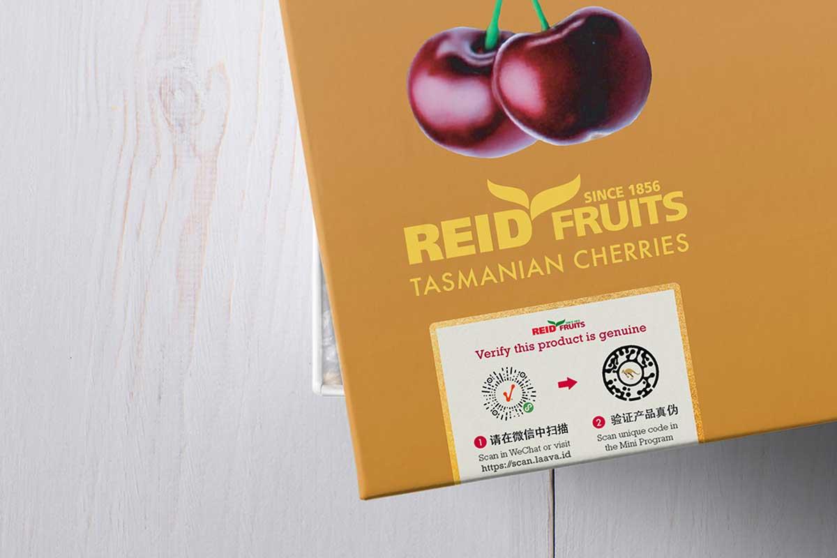 Reid Fruits combines Australian tech, LaavaID