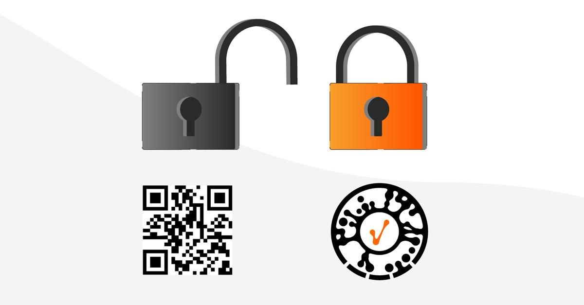 QR codes vs Laava Smart Fingerprints